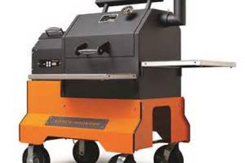 Pellet Smoker YS480 Competition Cart