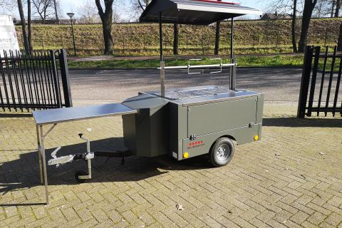 Traiteur Barbecue aanhangwagen Inferno